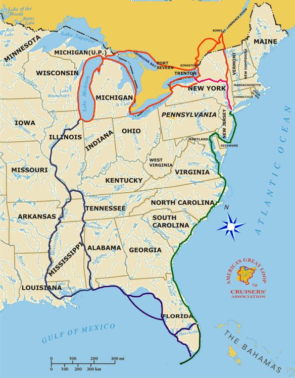 great-loop-cruisers-map